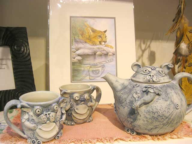 Fantasy Teapots, Pictures & Frames